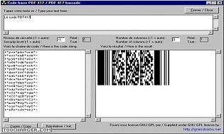 Code barre PDF417