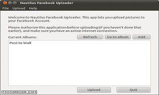 Nautilus Facebook Uploader