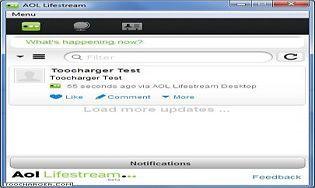 AOL Lifestream