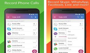 Enregistrement d'appel - Cube ACR Android