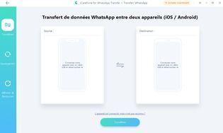iCareFone - Transfert WhatsApp