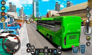 Public Transport Bus Coach: Taxi Simulator Games
