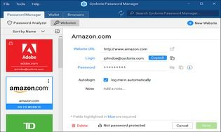 Cyclonis Password Manager 2.2.0.116