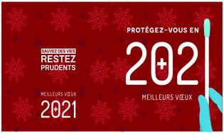 Cartes meilleurs vœux 2021