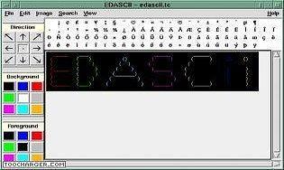 EDASCII - Editeur d'art ASCII