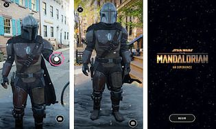 The Mandalorian AR Experience Android