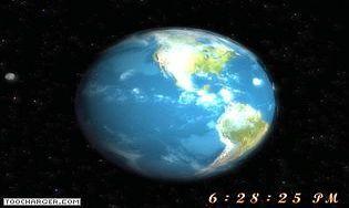 Free 3D Earth Screensaver