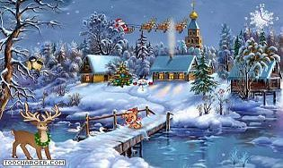Christmas Symphony Screensaver