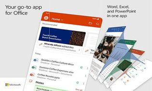 Microsoft Office  : Word, Excel, PowerPoint Android