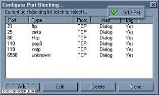 AnalogX PortBlocker