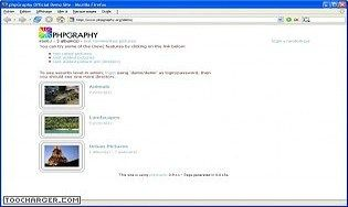 phpGraphy