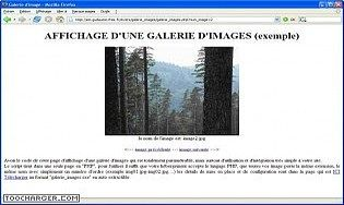 Galeries photos rapide