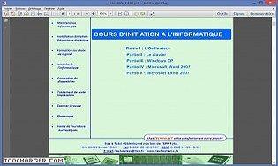 Inititation en Informatique