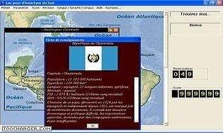 Les pays d'Amérique du Sud