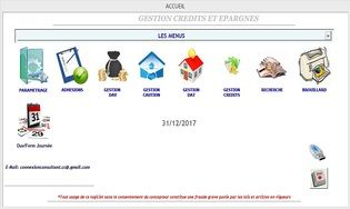 GESTION CREDITS EPARGNES
