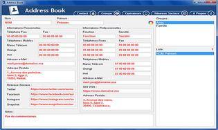 Address Book 2.0