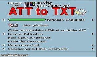 ATT2TXT