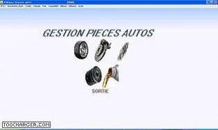 Gestion stock pieces Autos