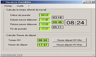 Logiciel gestion de temps t l charger des logiciels pour for Calculette en ligne gratuite