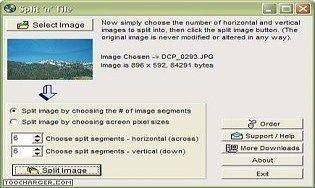 Split and Tile Image Splitter
