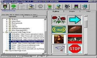 Internet Graphics Finder