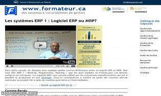 Les systèmes ERP