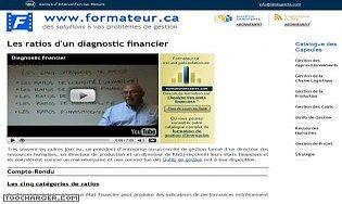 Les ratios d'un diagnostic financier