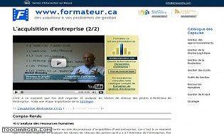 Acquisition d'entreprise (suite)