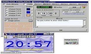 Logiciel horloges t l charger des logiciels pour windows bureautique horloges - Horloge bureau windows 8 ...