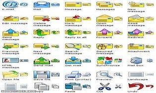 E-mail Icon Set
