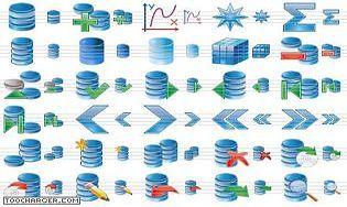 Database Icon Set