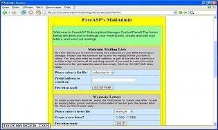 FreeASP Maillist