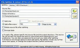 Fastest FileSplitter and Joiner