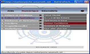 GRATUITEMENT TÉLÉCHARGER MATHENPOCHE GRATUIT 6EME