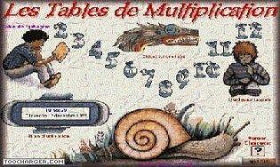 Aper u du logiciel tables de multiplication - Jouer avec les tables de multiplication ...