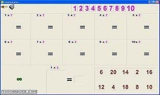 Multiskate tables de multiplication for Table fois 6