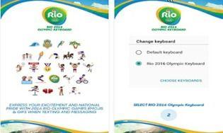 Rio 2016 Keyboard Android