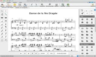 Crescendo - Logiciel de notation musicale pour Mac