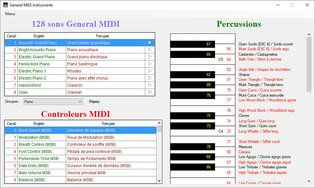 GMI (General MIDI Instruments)