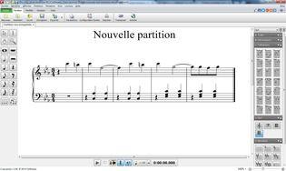 Crescendo - Logiciel de notation musicale