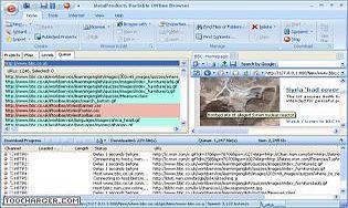 Portable Offline Browser
