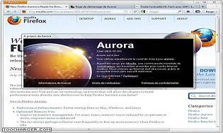 Mozilla Firefox 45 Developer Edition (Aurora)