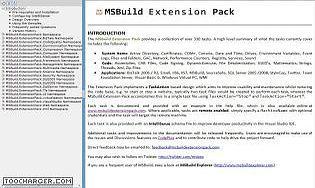 MSBuild Extension Pack