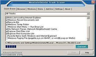 AbsoluteShield Track Eraser