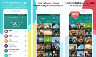 Nettoyeur pour WhatsApp Android