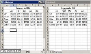 Spreadsheet Compare