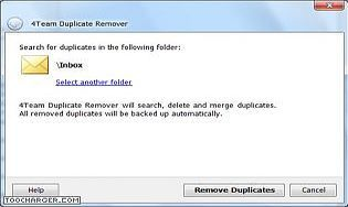 Duplicate Remover for Outlook