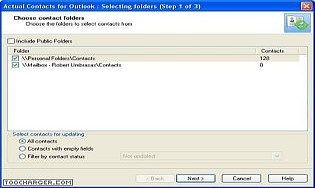 Actual Contacts for Outlook