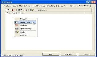 Outlook Auto BCC