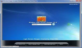 Windows Login Screen Changer